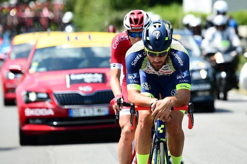 GUILLAUME VAN KEIRSBULCK (Wanty), que antes de dar el salto a profesionales era comparado con Tom Boonen, es el mejor rodador del Wanty en este Tour de Francia 2018
