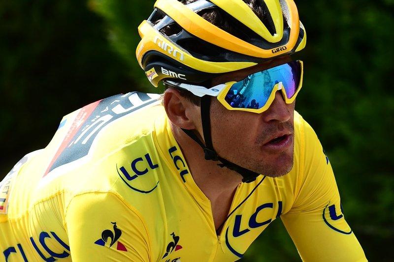 GREG VAN AVERMAET (BMC) es el líder del Tour de Francia. Es el 4º día de su trayectoria que consigue llevar el maillot amarillo