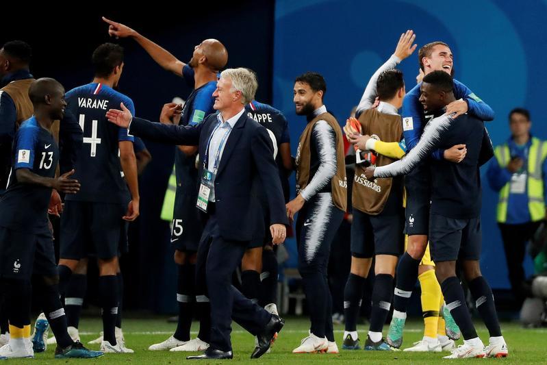 Francia es la primera finalista del Mundial de Rusia FOTO: EFE