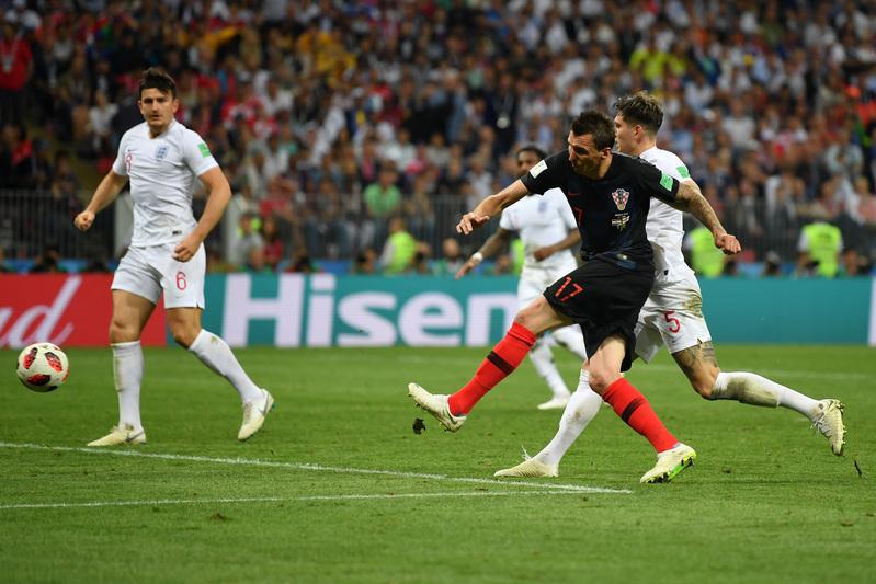 Mandzukic ha puesto con esta acción a Croacia por delante en el marcador