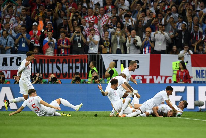 Y de esta manera lo celebró el equipo inglés