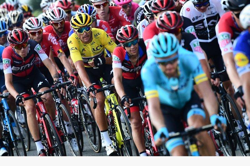 GREG VAN AVERMAET (BMC) tiene la misión de conservar hoy el maillot amarillo del Tour de Francia. ¿Lo conseguirá?