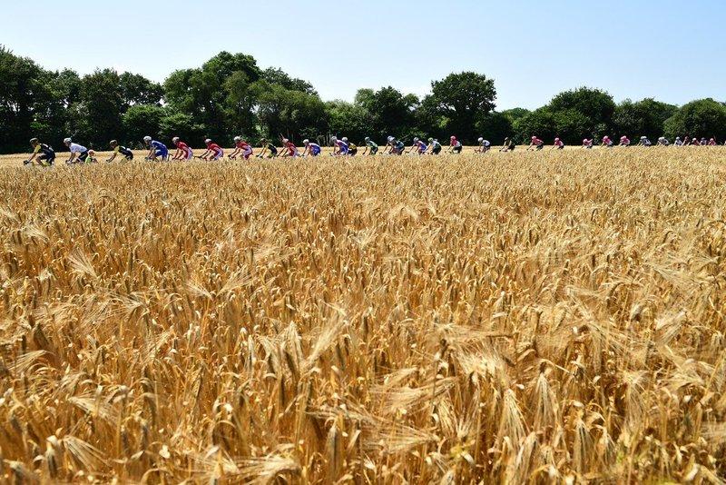 Tercer día de ciclismo en Bretaña en esta 6ª etapa del Tour de Francia 2018