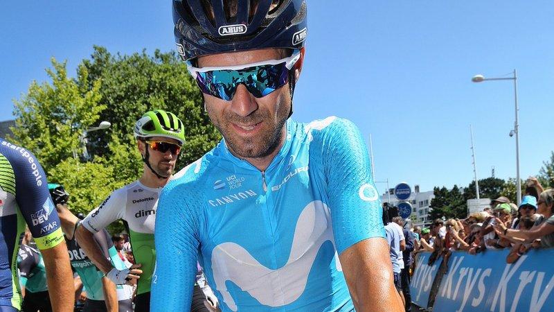 ALEJANDRO VALVERDE (Movistar) lo intentó ayer en Quimper y vuelve a ser uno de los grandes favoritos para ganar la etapa de hoy en el Tour de Francia