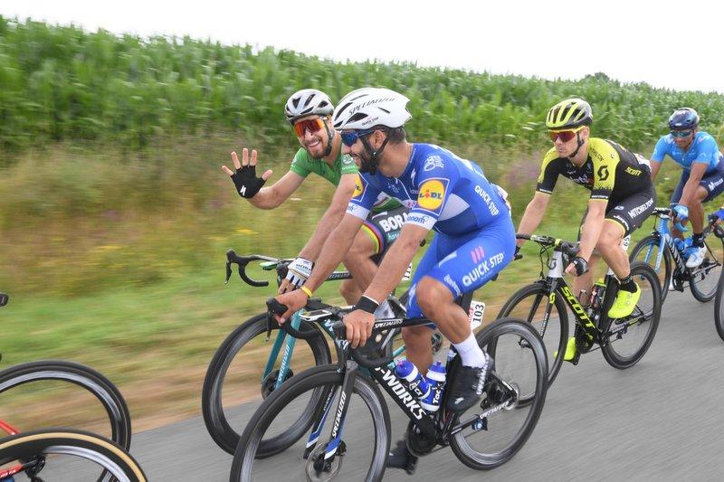 Gavíria y Sagan, el gran duelo de la velocidad en este Tour de Francia 2018