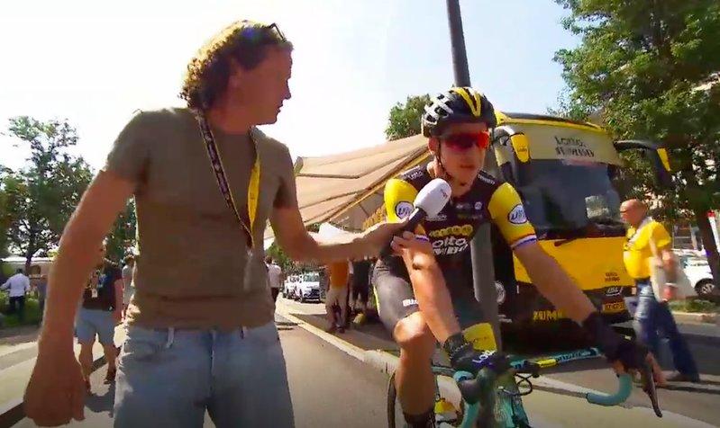 DYLAN GROENEWEGEN (Lotto Jumbo) ha explicado antes de iniciar la etapa de hoy que tiene confianza para sumar en Chartres su primer triunfo en este Tour de Francia 2018