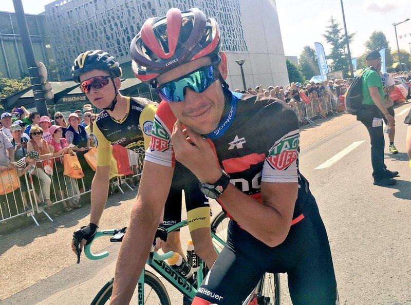RICHIE PORTE (BMC) será corredor del Trek-Segafredo la temporada que viene. Lo ha confirmado a su manera su futuro compañero Markel Irizar en RTVE