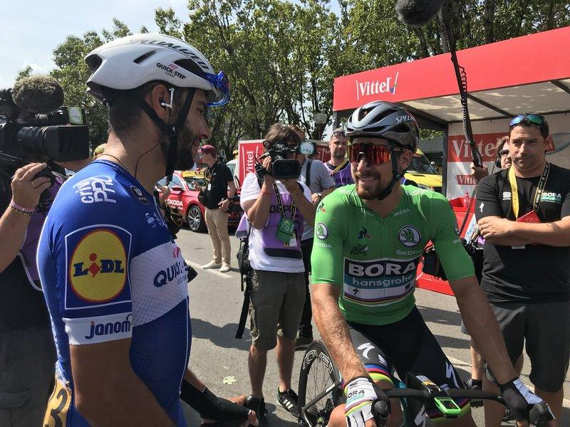FERNANDO GAVÍRIA (Quick-Step) y PETER SAGAN (Bora), máximos favoritos al triunfo en el final de hoy en el Tour de Francia 2018