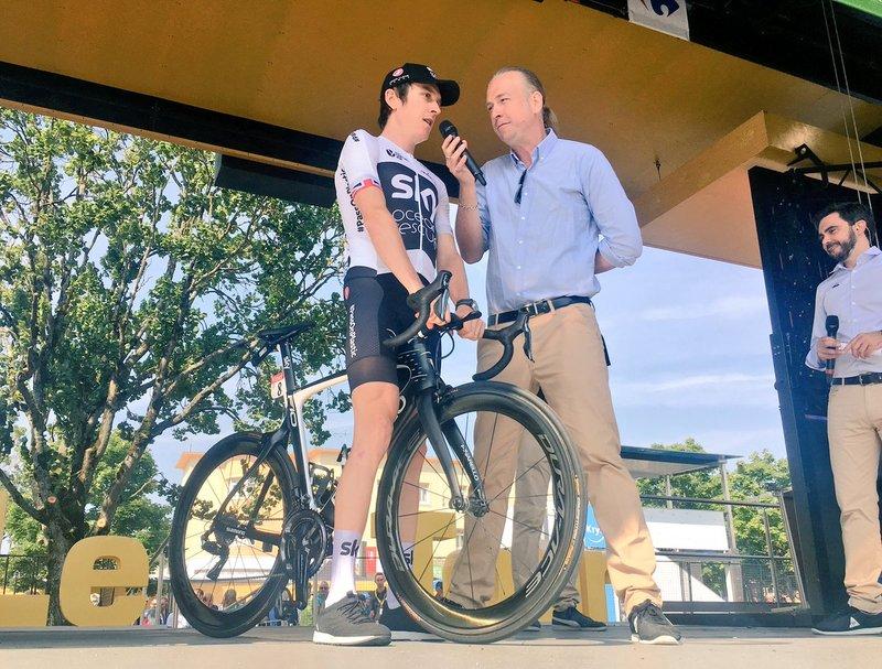 GERAINT THOMAS (Sky) tiene el liderato a sólo 3'. ¿Luchará por la bonificación en el Point Bonus en la etapa de hoy en el Tour de Francia?