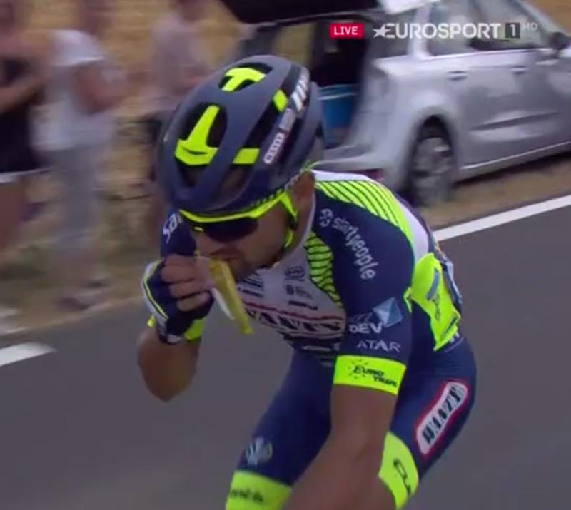 Hora de comer en el Tour de Francia
