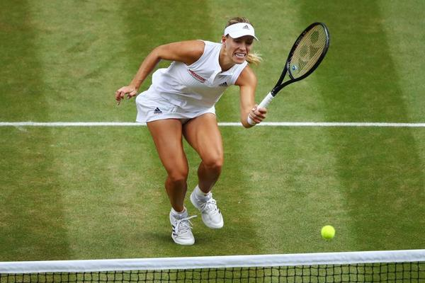 Angelique Kerber, segunda final de Wimbledon. De nuevo contra Serena Williams, su verdugo en 2016 FOTO: GETTY