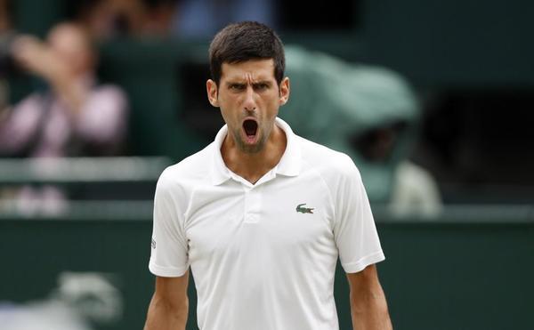 El mejor Novak Djokovic está de vuelta. Lo ha demostrado en esta semifinal, caiga para quien caiga FOTO: EFE
