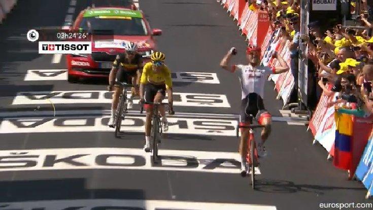 La victoria de Degenkolb al sprint