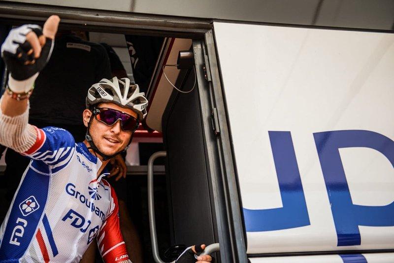 RUDY MOLARD (Groupama-FDJ), líder provisional de la clasificación de la montaña del Tour de Francia 2018