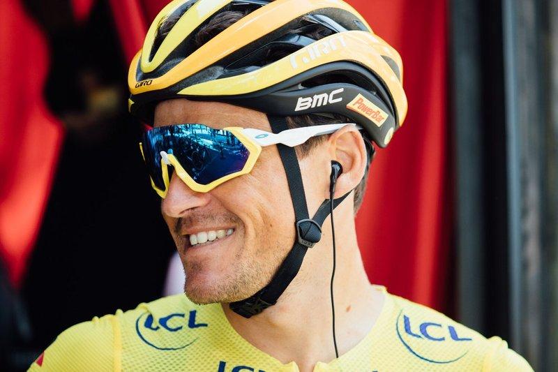GREG VAN AVERMAET (BMC), un maillot amarillo que se mete en las fugas del Tour de Francia