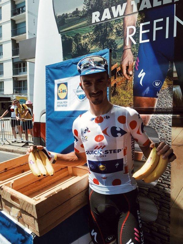 JULIAN ALAPHILIPPE (Quick-Step) quiere aumentar su ventaja en la clasificación de la montaña en el Tour de Francia