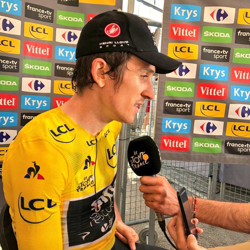 GERAINT THOMAS (SKY) amplía su ventaja en la general del Tour de Francia 2018 tras su segundo triunfo consecutivo de etapa