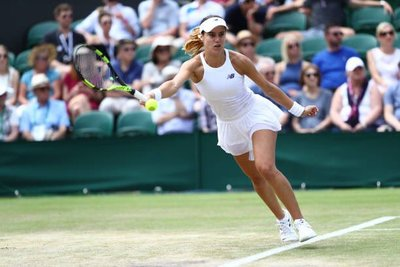 9ede869f220 sorana cirstea is through to  Wimbledon round 2! Downs 2017 semifinalist  Rybarikova 7-5