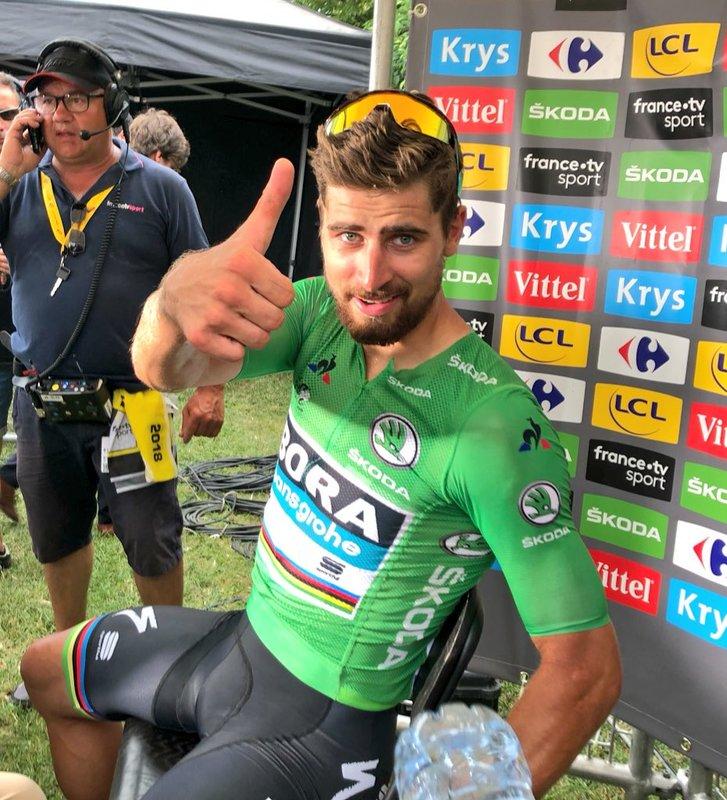 Impresionante actuación del eslovaco en este Tour de Francia 2018