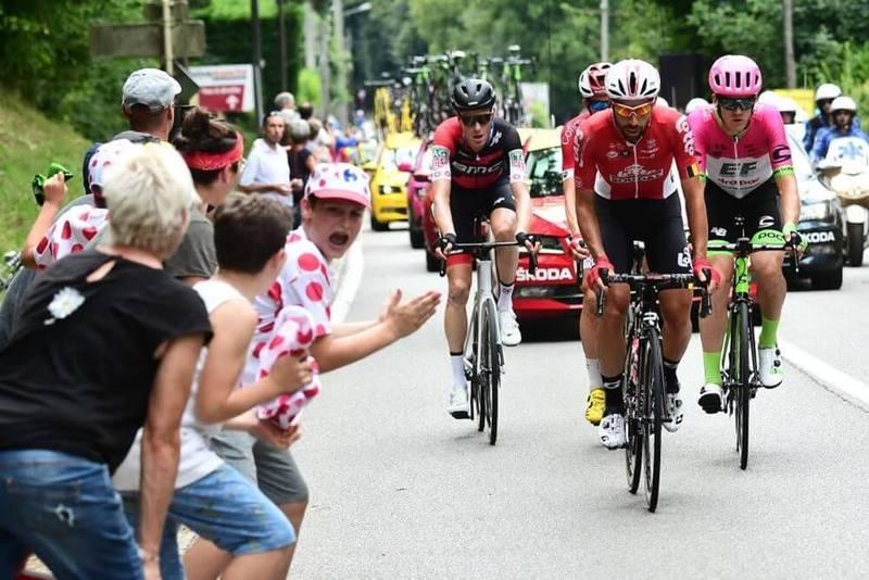 ESCAPADA de la 13ª etapa del Tour de Francia 2018