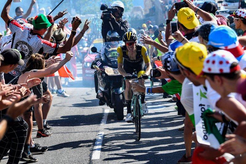 STEVEN KRUIJSWIJK (Lotto Jumbo) fue el héroe de la etapa de ayer en el Tour de Francia. ¡Más de 70km en solitario!