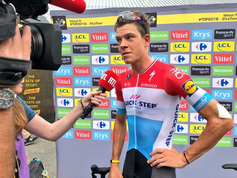 BOB JUNGELS (Quick-Step) es el 13º clasificado en la general del Tour de Francia. Cerca de su objetivo de terminar al Top 10 en la ronda francesa