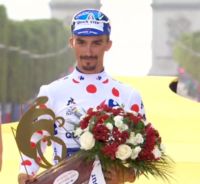 Alaphillipe es el ganador del maillot de la montaña