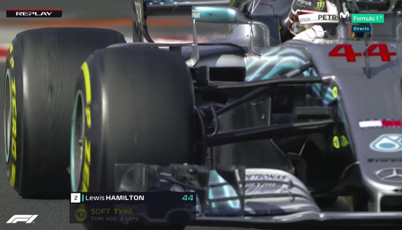 Hamilton vuelve a recuperar velocidad.