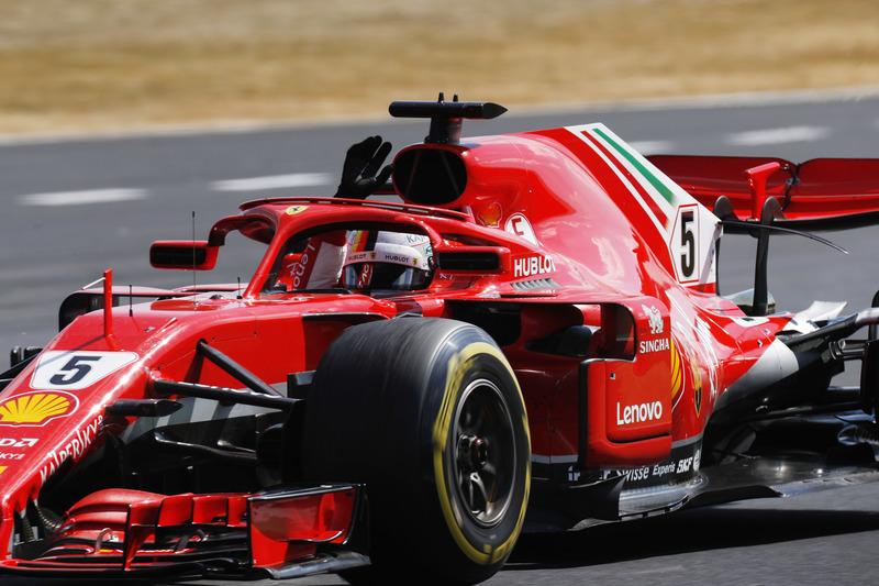 F1: Sebastian Vettel vence o movimentado GP da Grã-Bretanha