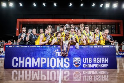 26ff122305ab And Australia are the winners of the FIBA U18 Asian Championship with a  72-63 win over New Zealand!