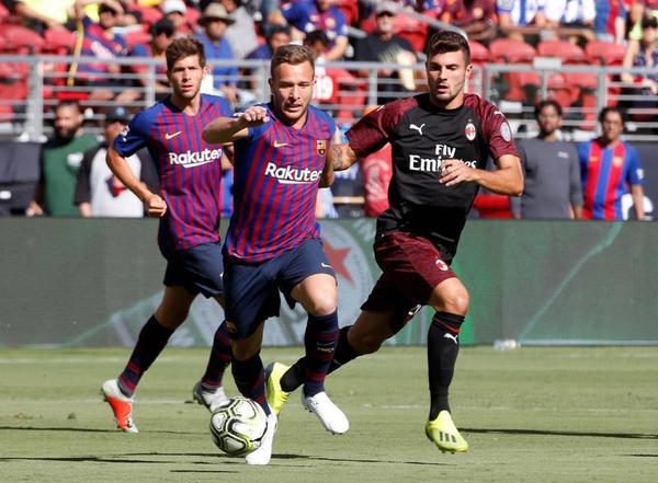 FC Barcelona - AC Milan: el partido de la International ...