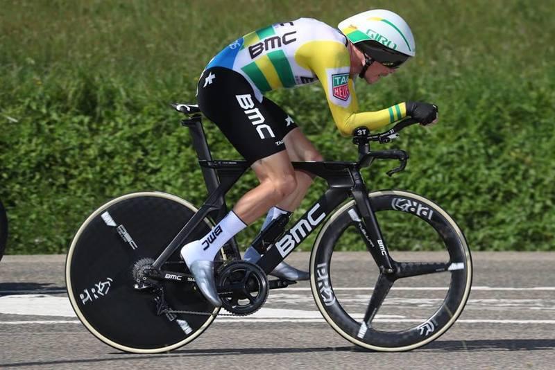 ROHAN DENNIS (BMC), increíble actuación en esta contrarreloj larga de la Vuelta a España