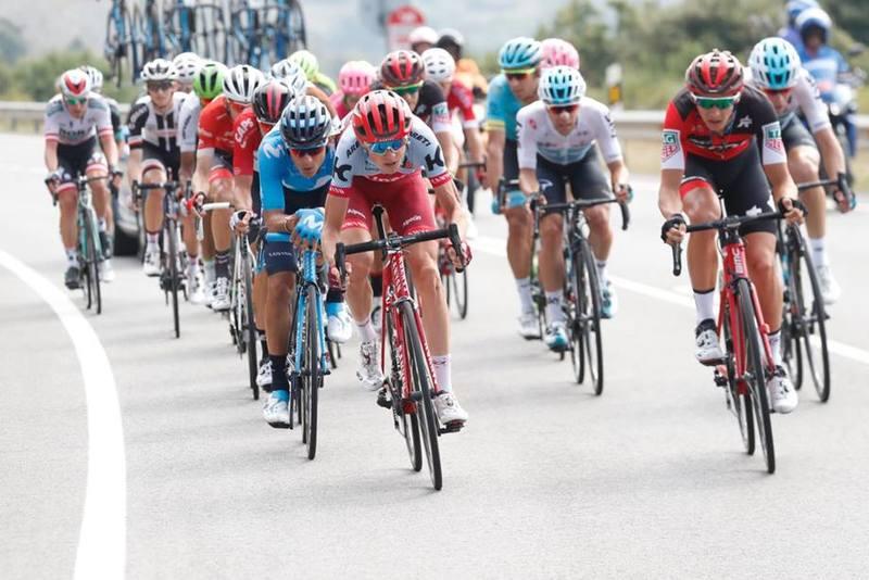 Los escapados de la 17ª etapa de la Vuelta a España 2018