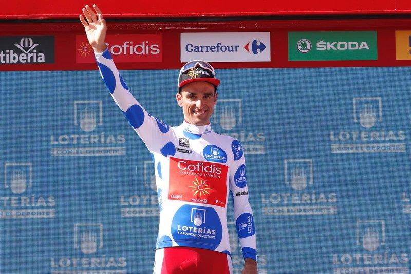 MATÉ (Cofidis), gran protagonista de la Vuelta a España 2018 en la primera semana de carrera
