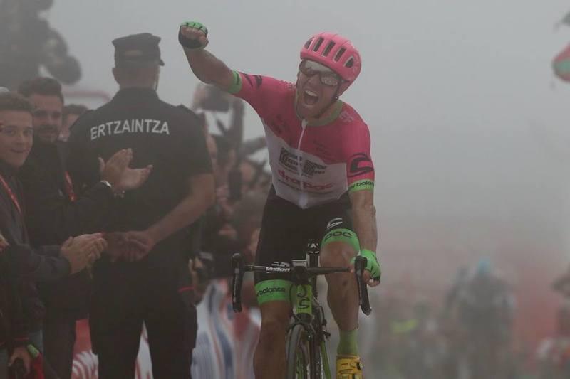 MICHAEL WOODS, vencedor de la 17ª etapa de la Vuelta a España