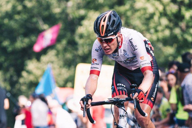JETSE BOL (Burgos-BH) vuelve a ser protagonista de una escapada en esta Vuelta 2018