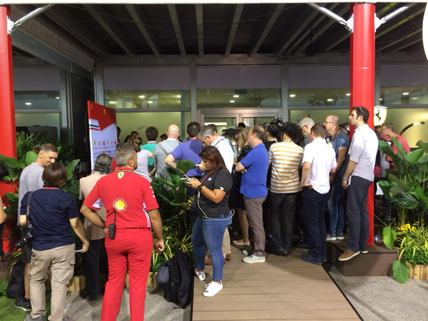 Conferenza stampa Ferrari