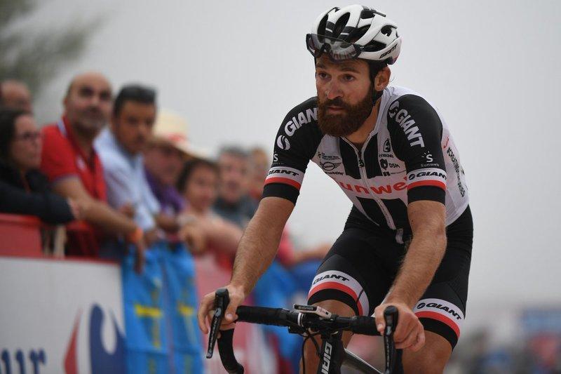 SIMON GESCHKE (Sunweb), uno de los corredores que no ha tomado la salida en esta 18ª etapa de la Vuelta a España por problemas de salud