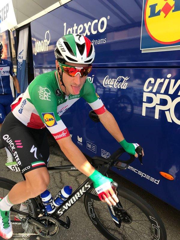ELIA VIVIANI (Quick-Step), gran favorito al triunfo en esta 18ª etapa de la Vuelta a España 2018