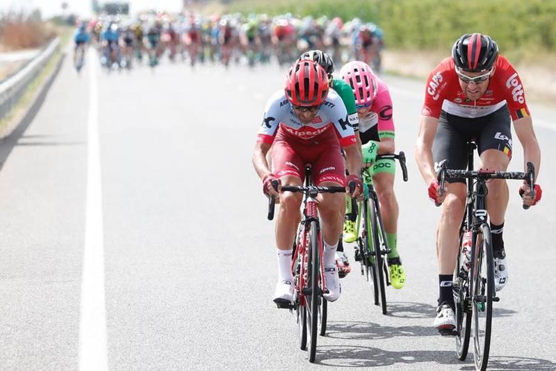 Intento de escapada sin éxito en esta 19ª etapa de la Vuelta 2018