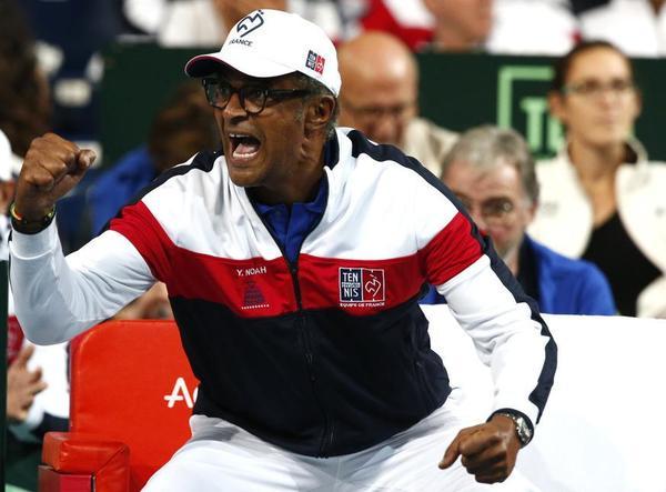Yannick Noah, que sabe que su etapa de capitán francés acaba esta temporada Será sustituido por Amélie Mauresmo FOTO: AP