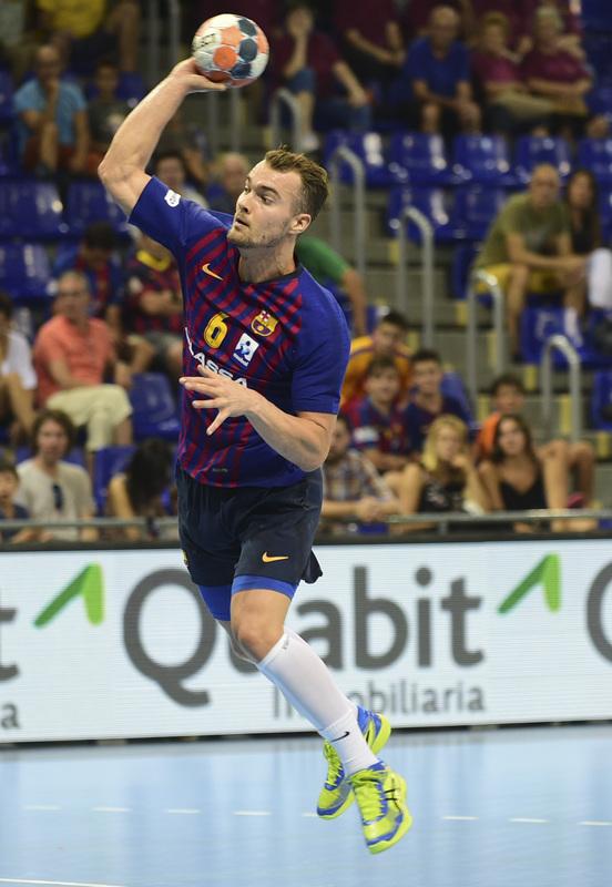 Mortensen ha marcado un golazo en la reanudación (Manel Montilla/MD)