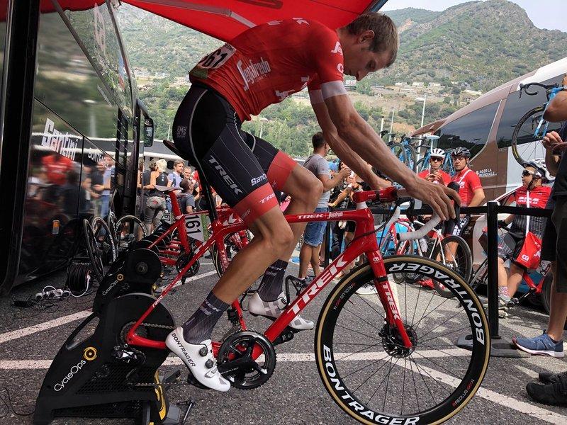 BAUKE MOLLEMA (Trek-Segafredo), merecido premio de la combatividad de esta Vuelta a España 2018
