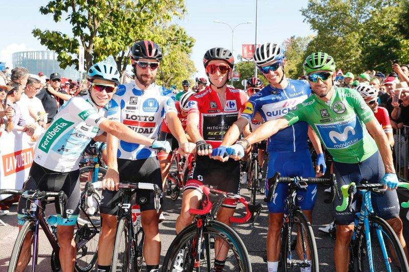 Los 5 grandes protagonistas de la Vuelta a España en la salida de esta 21ª etapa