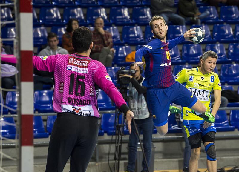 Aleix Gómez, en un partido de la temporada pasada