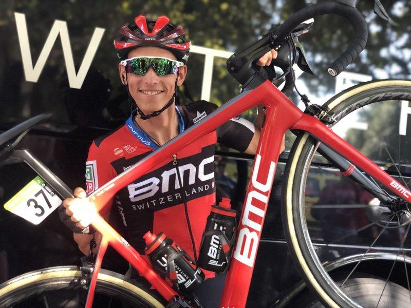 DYLAN TEUNS (BMC), uno de los grandes animadores de la Vuelta 2018