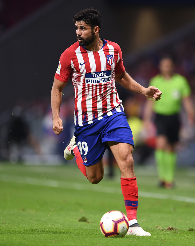Diego Costa vuelve a jugar la Champions con el Atlético (Getty)