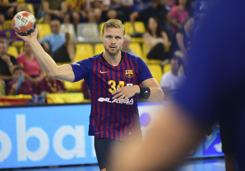 El azulgrana Palmarsson juega por primera vez contra su ex equipo, el Veszprem