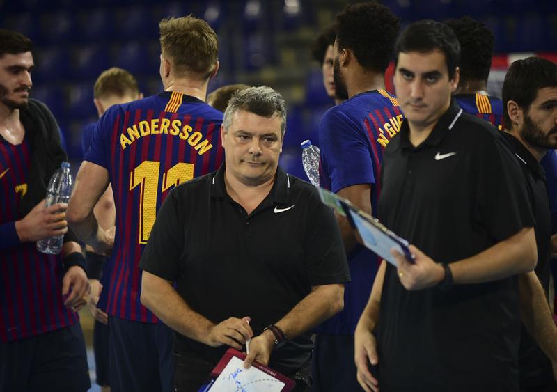 Xavi Pascual, técnico del Barça