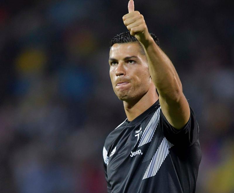 Cristiano Ronaldo ha saludado a los aficionados de la Juventus antes del inicio del partido (Juventus)